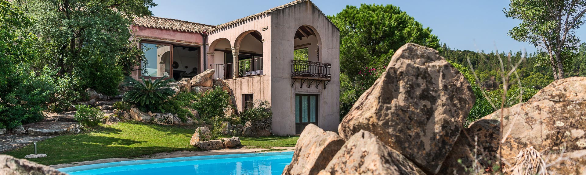 Villa Fiorita, Is Molas, Sardinien